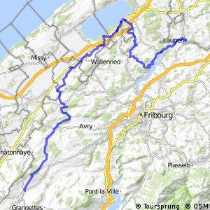 rcn 99 - Etappe 2 (Romont - Laupen)