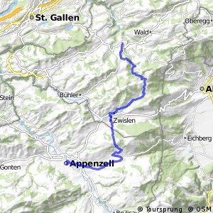 Panorama Bike - Etappe 02 (Trogen–Appenzell)