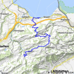 Panorama Bike - Etappe 01 (Rorschach–Trogen)