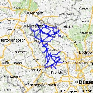 Radverkehrsnetz NRW, Kreis Kleve