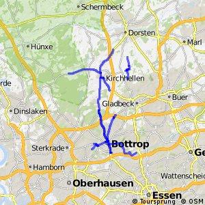 Radverkehrsnetz NRW, Stadt Bottrop