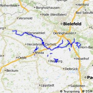 Radverkehrsnetz NRW, Kreis Gütersloh