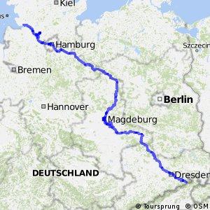 [D10] Elberadweg [rechtselbisch]