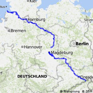 [D10] Elberadweg [linkselbisch]