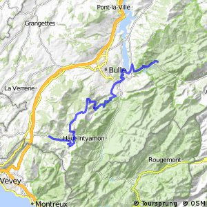 Panorama Bike - Etappe 13 (Charmey–Les Paccots)