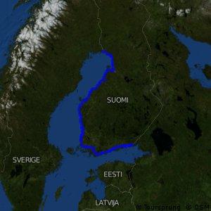 EuroVelo 10 - part Finland