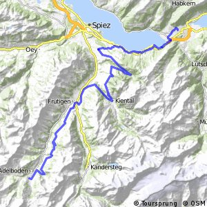 Alpine Bike - Etappe 13 (Interlaken–Adelboden)