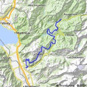 Alpine Bike - Etappe 16 (Château-d'Oex–Aigle)