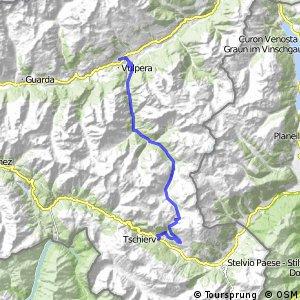 Alpine Bike - Etappe 1 (Scuol - Tschierv)