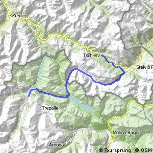 Alpine Bike - Etappe 2 (Tschierv - Livigno)
