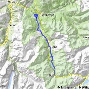 Alpine Bike - Etappe 5 (Bivio - Tiefencastel)