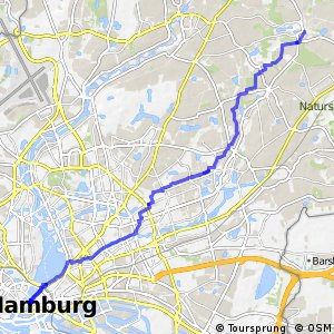 Hamburg Veloroute 6