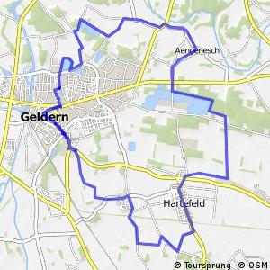 Geldern-Route, Rot