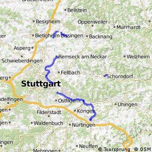 Deutsche Fachwerkstraße Abschnitt Bietigheim-Kirchheim