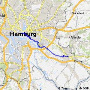 Hamburg Veloroute 9