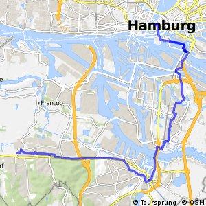 Hamburg Veloroute 10