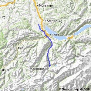rcn 64 - Etappe 1 (Kanderteg - Thun)
