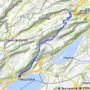Chasseral–Weissenstein Bike - Etappe 1 (Neuchâtel–Sonceboz)
