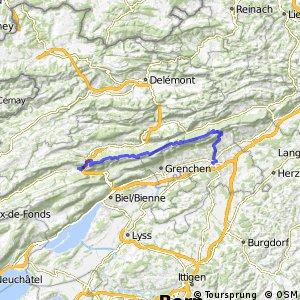 Chasseral–Weissenstein Bike - Etappe 2 (Sonceboz - Solothurn)