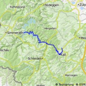 Eifel-Höhen-Route (Alternativ-Streckenabschnitt)