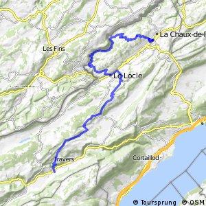 Jura Bike - Étape 6 (La Chaux-de-Fonds–Couvet)