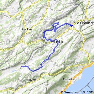 Neuchâtel Bike - Étape 3 (La Chaux-de-Fonds–La Brévine)