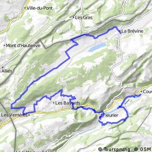 Neuchâtel Bike - Étape 4 (La Brévine–Couvet)