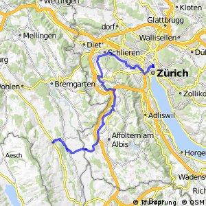rcn 84 - Etappe 4 (Muri AG-Zürich)