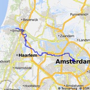 IJdijkenroute (Velsen - Amsterdam)