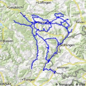 Radverkehrsnetz BW, Landkreis Waldshut