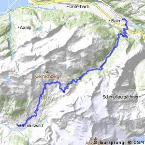 Alpine Bike - Etappe 11 (Meiringen – Grindelwald)