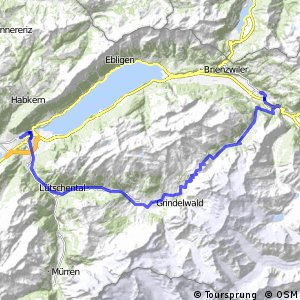 rcn 61 - Etappe 2 (Interlaken - Meiringen)
