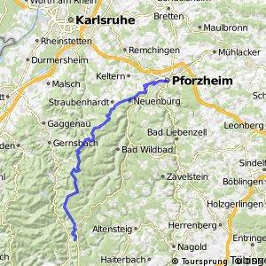 Schwarzwaldhöhenradweg West