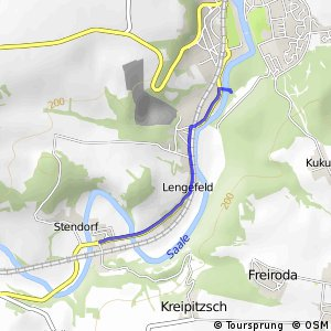Saale-Unstrut-Elster-Rad-Acht (alternative Streckenteile)