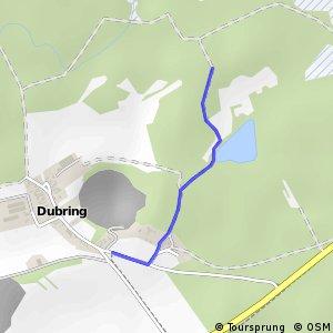 Archäologischer Radwanderweg Lausitz - Versunkenes Schloß
