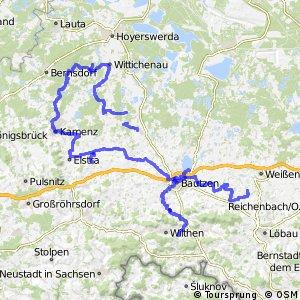 Archäologischer Radwanderweg Lausitz