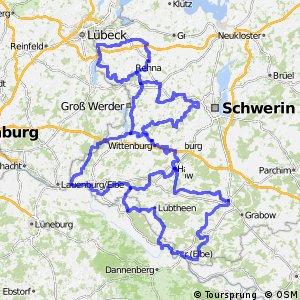 Elbetal-Schaalsee Rundweg