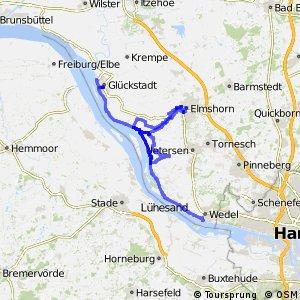 [D10] Elberadweg [Abschnitt B] Brokdorf - Wedel [rechtselbisch]