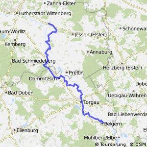 [D10] Elberadweg [Abschnitt L] Elster - Belgern