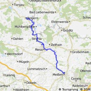 [D10] Elberadweg [Abschnitt M] Belgern - Meißen [linkselbisch]