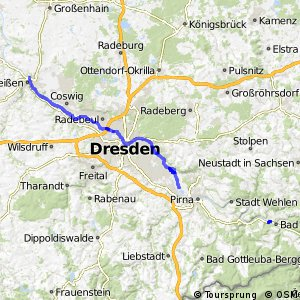 [D10] Elberadweg [Abschnitt N] Meißen - Heidenau [rechtselbisch]