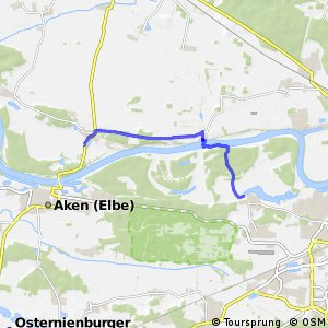 [D10] Elberadweg Alternativroute