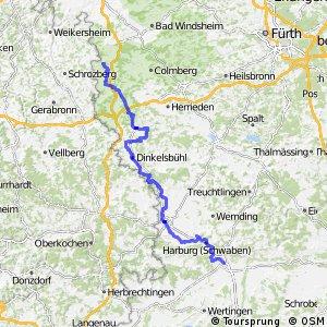 [D9] Weser-Romantische Straße [Bayern: Rothenburg - Donauwörth]