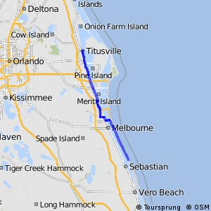East Coast Greenway (south Brevard County, FL)