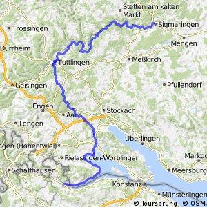 Donauroute [Bodensee - Sigmaringen]