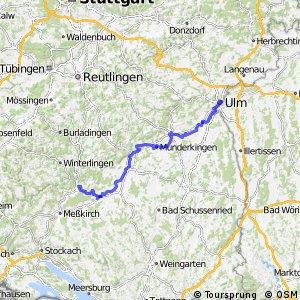 [D6] Donauroute [Sigmaringen - Ulm]