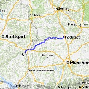 [D6] Donauroute [Ulm - Ingolstadt]