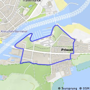 nördlicher Priwall-Rundweg