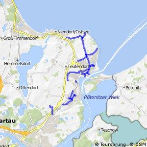 Radrouten Lübeck-Travemünde - Netzergänzungen