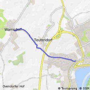 Radroute HL29 Travemünde - Warnsdorf